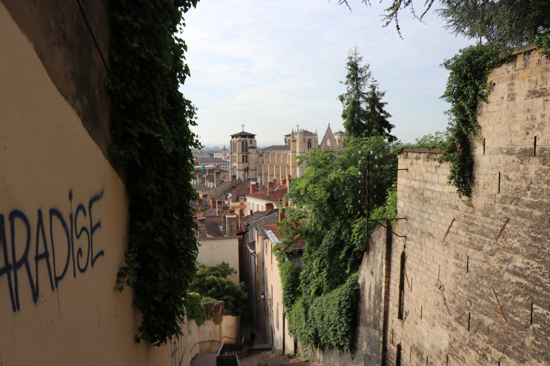 Stairs challenge Lyon